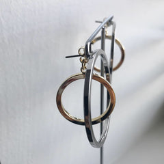 Orbital Twotone Earrings