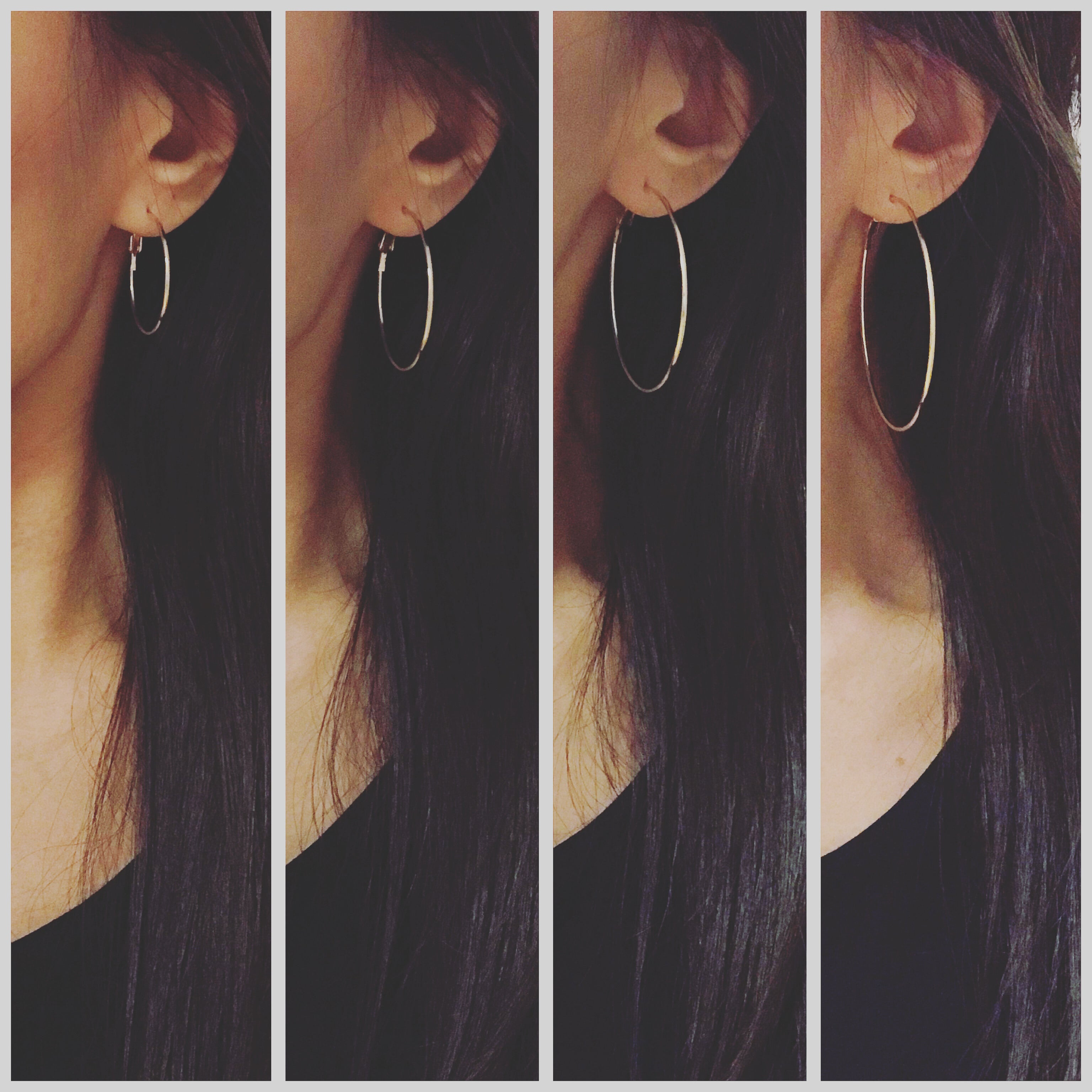 Timeless Thin Hoops