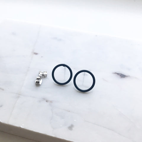 Cherrios Circle Earrings