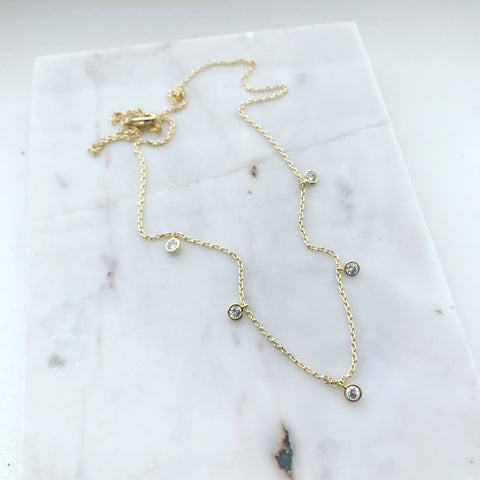 CZ (Dangle) Necklace