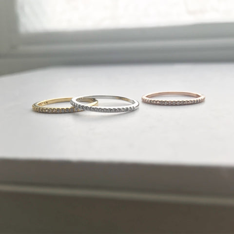 Ultra Thin Band (Stacking) Ring
