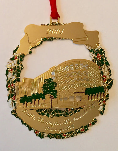 2001 Seattle Ornament: Benaroya Hall