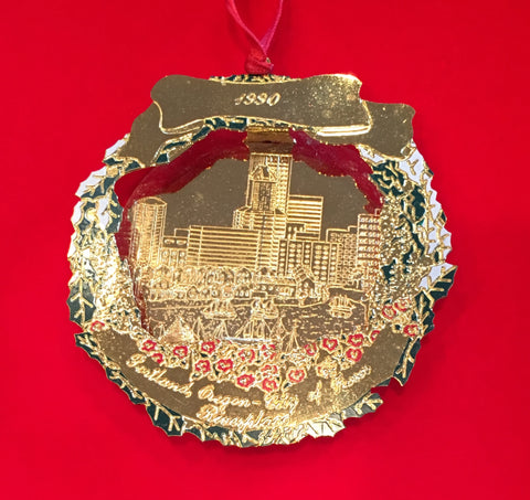 1990 Portland Ornament: Riverplace Ltd.