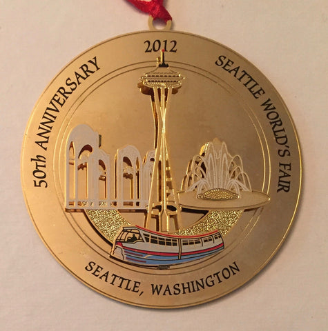 2012 Seattle Ornament - 50th Anniversary Seattle World's Fair