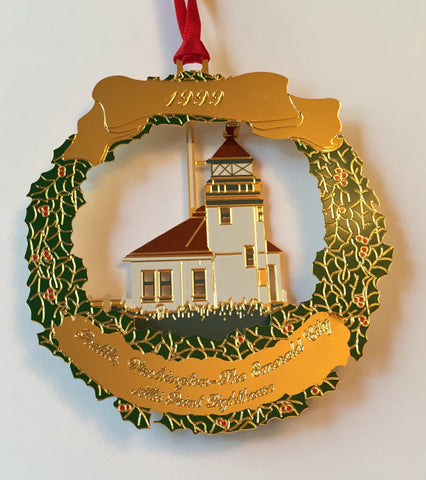 1999 Seattle Ornament: Alki Point Lighthouse