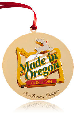 "Old Town ""Made in Oregon"" Ornament (Portland OR)"