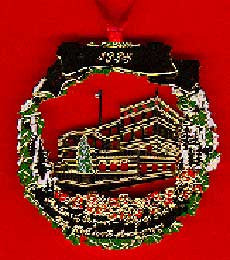 1995 Portland Ornament: 100th Anniversary of City Hall