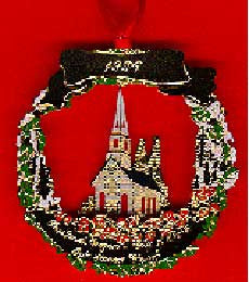 1996 Portland Ornament: Oaks Pioneer Church