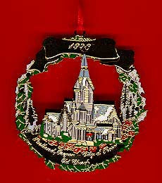 1998 Portland Ornament: The Old Church