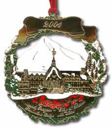 2001 Portland Ornament: Timberline Lodge Mt. Hood