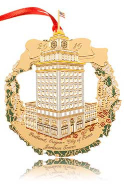 2010 Portland Ornament: Jackson Tower