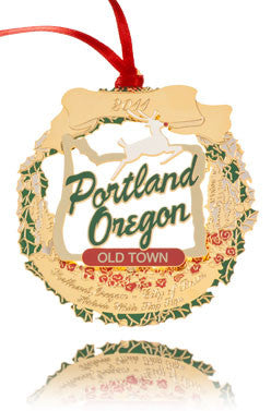 2011 Portland Ornament: Historic White Stag Sign