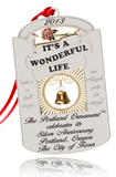 "2013 Portland Ornament: ""It's a Wonderful Life"" - Silver Anniversary/The Portland Ornament"