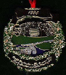 1995 Seattle Ornament: Husky Stadium & Lake Washington