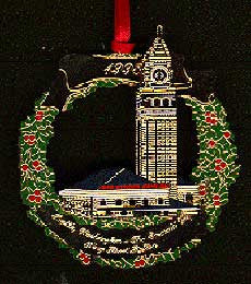 1998 Seattle Ornament: King Street Station