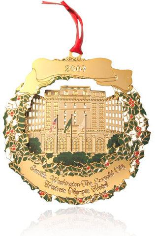 2004 Seattle Ornament: The Historic Olympic Hotel