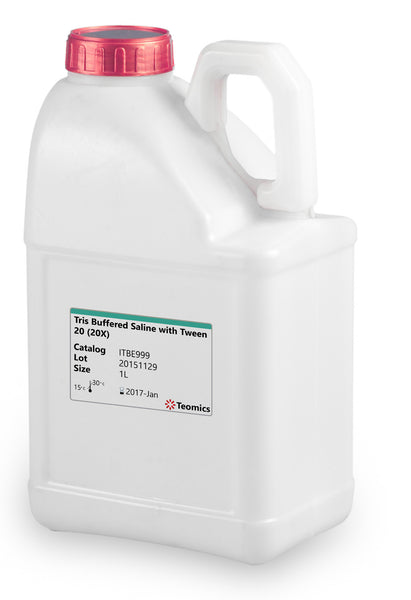 Tris Buffered Saline with Tween 20 (20X) - Teomics