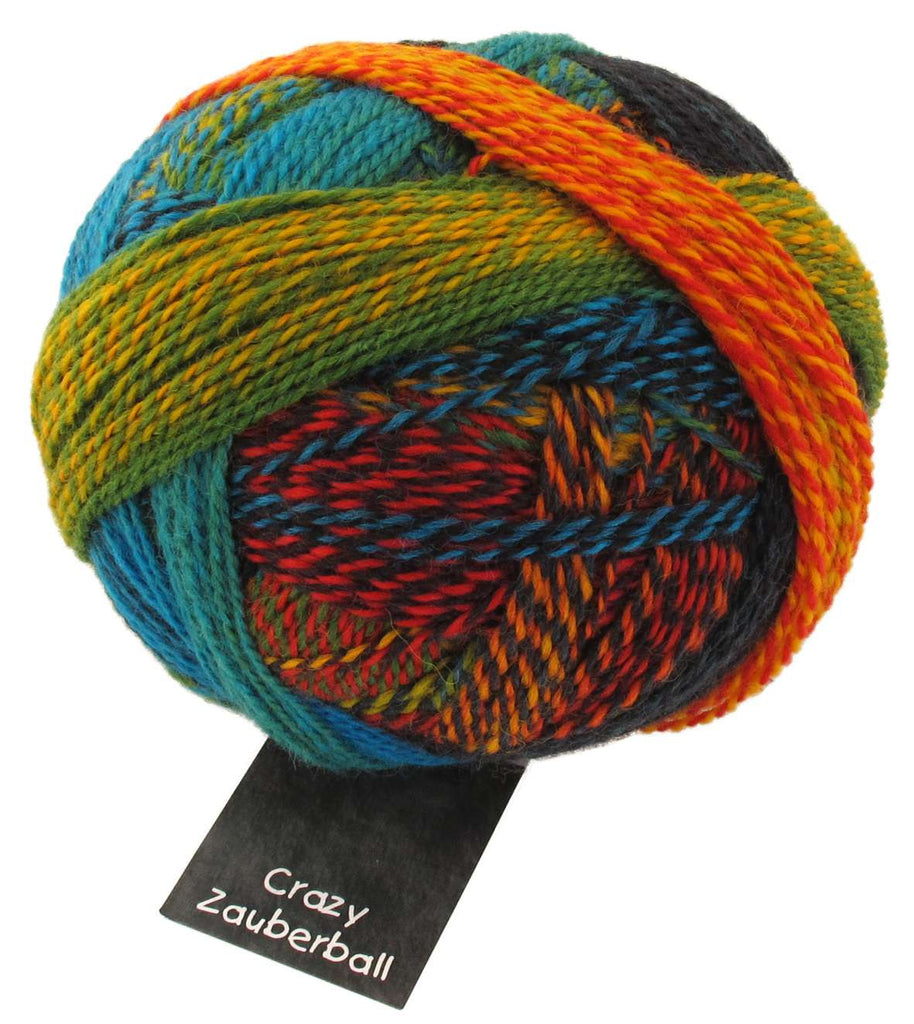 Zauberball Crazy 4 Ply - Convent and Chapel Wool Shop  - 4