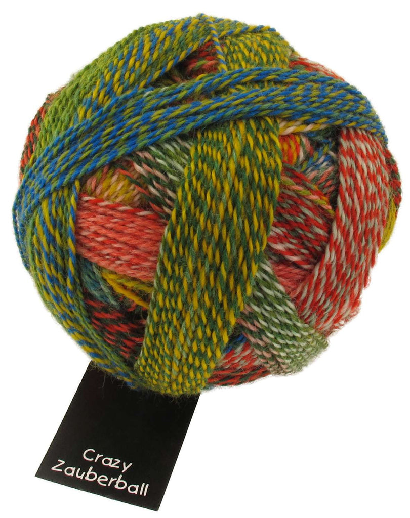 Zauberball Crazy 4 Ply - Convent and Chapel Wool Shop  - 7