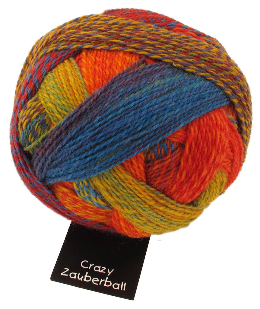 Zauberball Crazy 4 Ply - Convent and Chapel Wool Shop  - 8