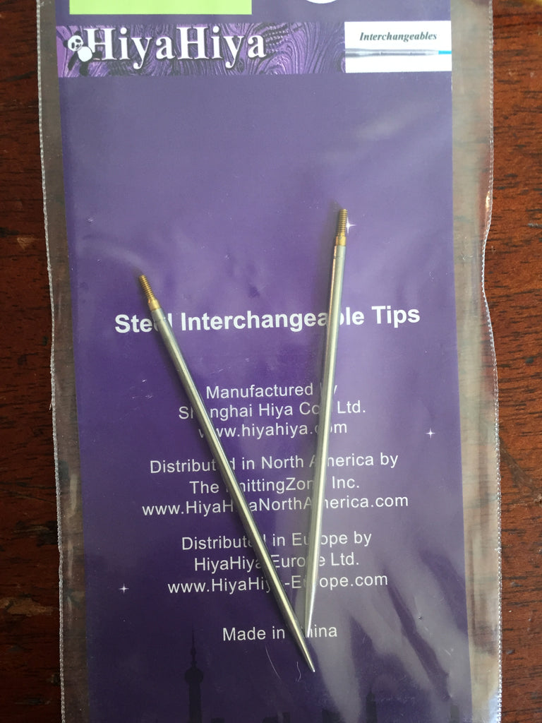 "Hiya Hiya 4"" interchangeable tips"