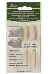 Clover Bamboo Repair Hook Set CVK3009