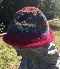 Roll Brim Beanie - Convent and Chapel Wool Shop