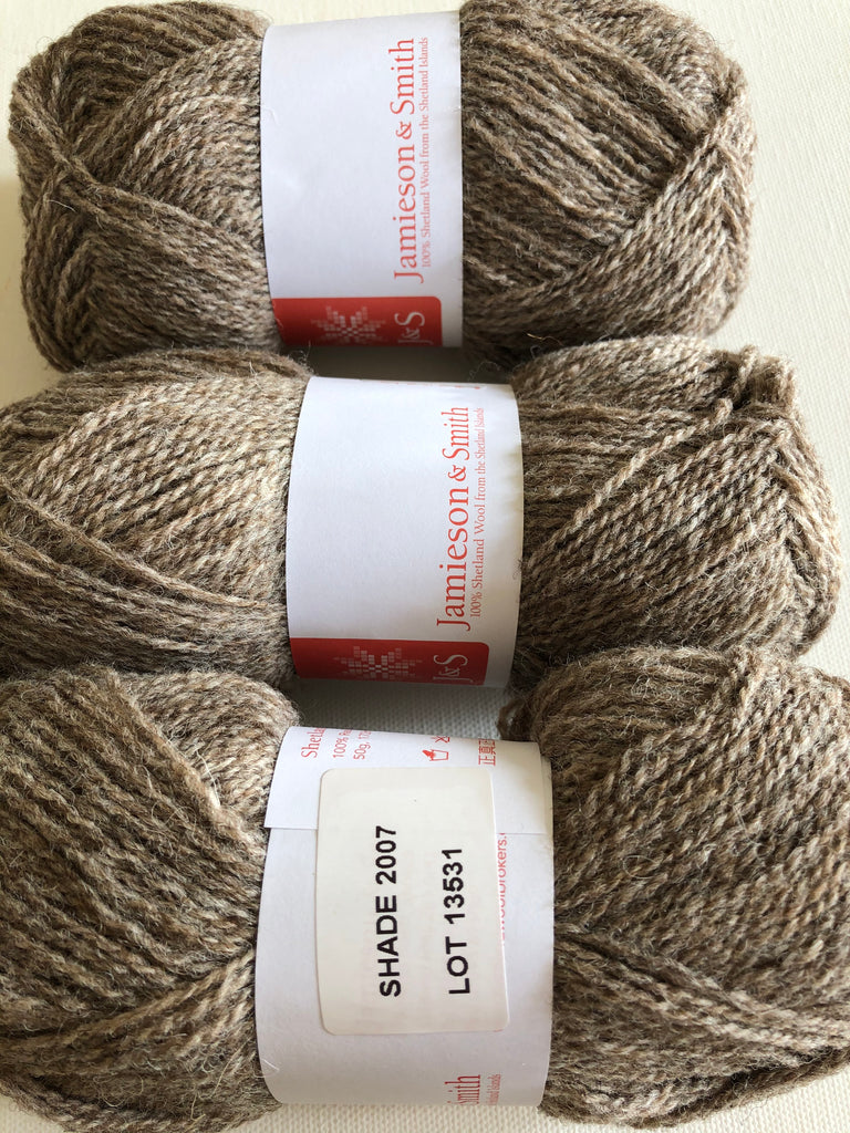 Jamieson & Smith Shetland Supreme 2 ply Jumper Weight