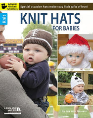 Knit Hats for Babies by Lee Ann Garrett - Convent and Chapel Wool Shop