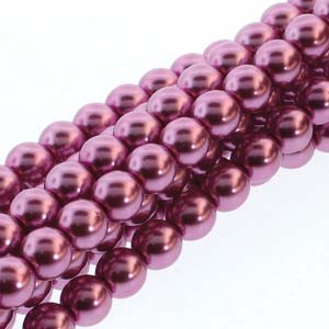 Pearl Beads - 4mm Round Glass