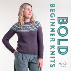 Bold Beginner Knits by Kate Davies Designs