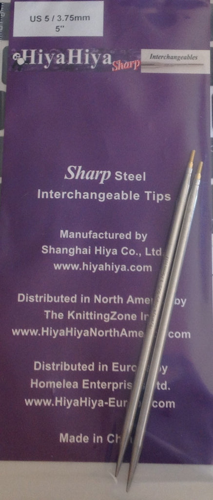 "HiyaHiya 5"" Sharp Steel Interchangeable Tips"