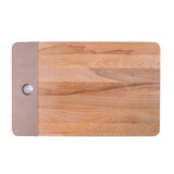 LARGE WOODEN BOARD - METALLIC