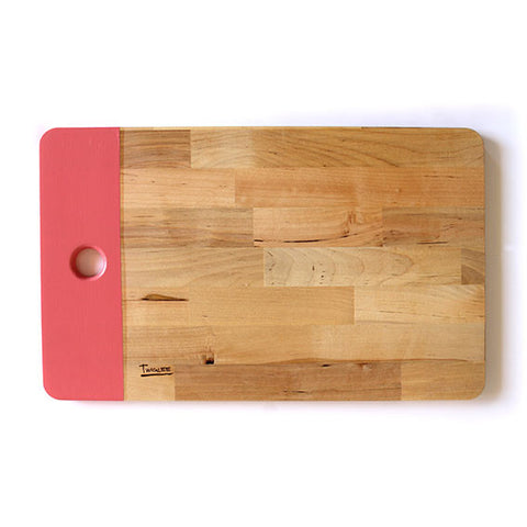 LARGE WOODEN BOARD - PINK
