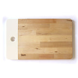 LARGE WOODEN BOARD - WHITE