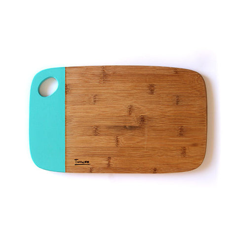MEDIUM BAMBOO BOARD - AQUA