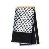 LINEN TEA TOWEL - MOROCCAN BLACK