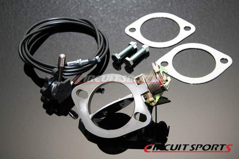Exhaust Release Kit - Manual 2 Bolt Flange.