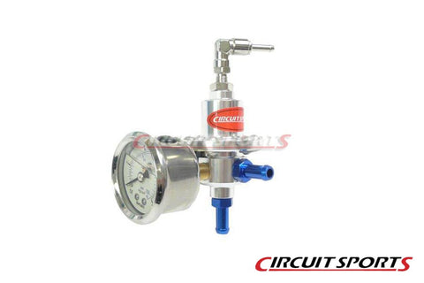 Fuel Pressure Regulator, Adjustable - Universal