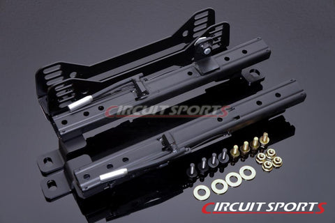 Circuit Sports Seat Rails (Double Lock, Side Mount) - Toyota GT86/FT86/Scion FR-S/Subaru BRZ