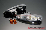 Crystal Clear Front Turn Signals - Nissan 240SX/180SX Chuki  91-94 (Tear Drop Style)