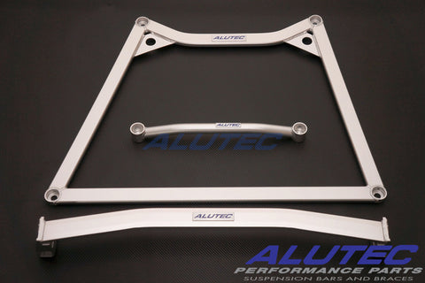 Alutec Complete Under-Chassis Brace Set – Nissan GTR ('09-12 R35, 3pc/set)