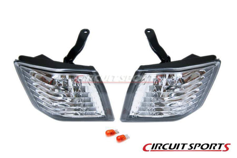 Front Corner Lights (Clear) - Nissan Silvia only ('89-94 S13)