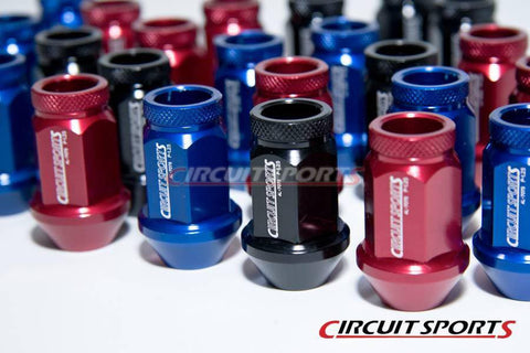 Circuit Sports Race Lug Nuts - M12 40mm - Aluminum