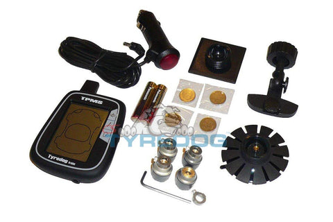 Tyredog Tire Pressure and Temp Monitor System (TPMS) TD-1000A-4X