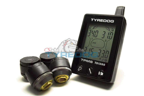 Tyredog Tire Pressure and Temp Monitor System (TPMS) TD-1300A