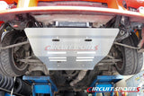 Aluminum Front Under Tray Panel - Nissan 240SX S13 (89-94)