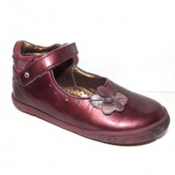 Babybotte Sanyali Metallic Purple Velcro Shoes