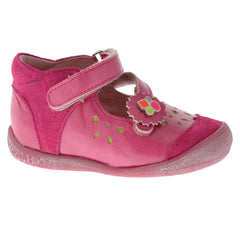 Babybotte Sitronele Bright Pink Patent Velcro Shoes