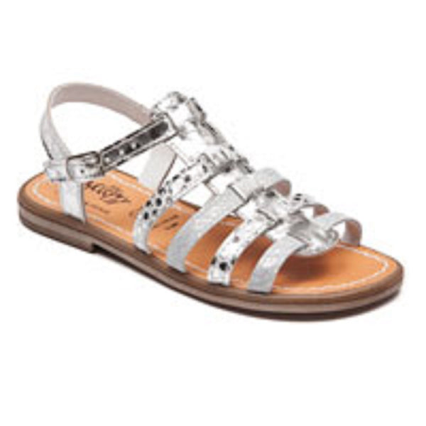 Bellamy Flora Metallics Gladiator Style Sandals
